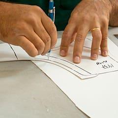 Processo de fabricação manual